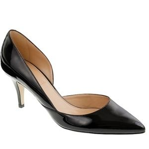 J. Crew Valentina patent heel